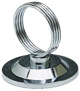 NEW, Ring-Clip Place Cards, Place Card Holder, Menu Holder, Banquet Table Place Card Holders, Stainless Steel - 1 Dozen