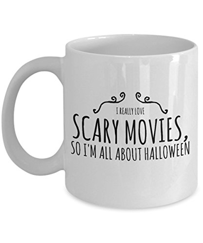 Zane Wear I really love scary movies so I'm all about Halloween - Coffee Mug Cup -