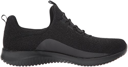 5 Women's 5 Black black Size Trainer Skechers On Slip Ultra Flex Sparkle Mesh wq7TZqBS