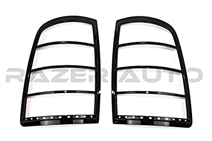 For 09-15 Dodge RAM Chrome MIRROR COVER+2 Handle W//PK+Tail Light COVER+Gas Door
