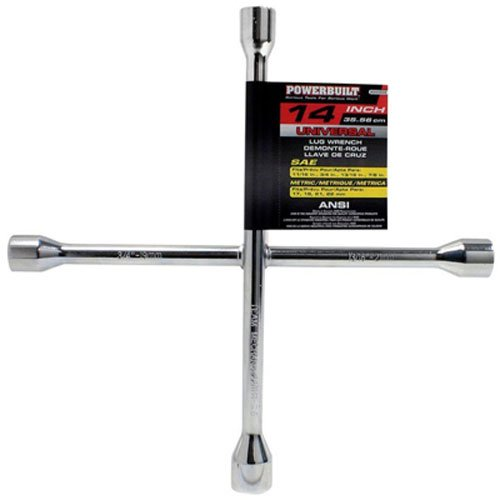 Powerbuilt 940558 14'' Universal Lug Wrench