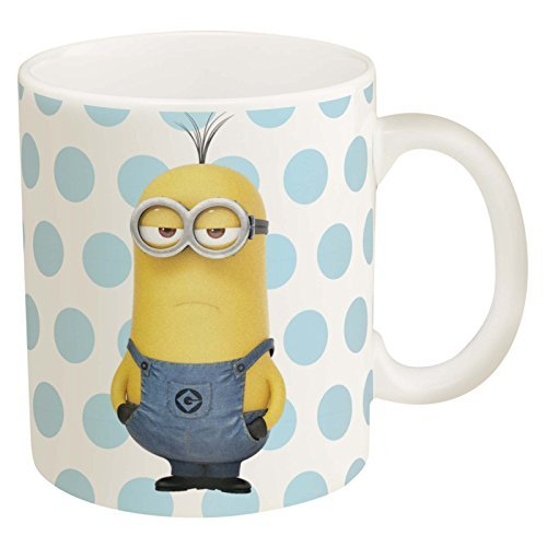 Zak Designs Coffee Mugs 11.5 oz- Elsa, Olaf & Minions (Minion)