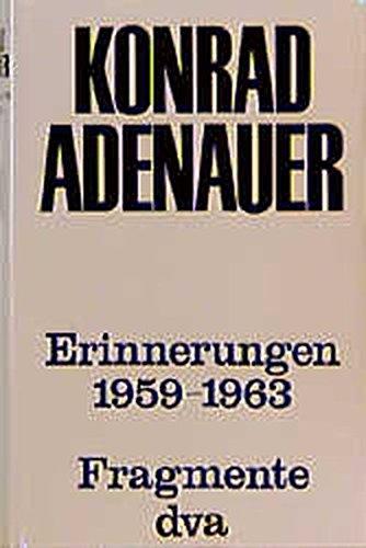 Erinnerungen 1959-1963: Band 4