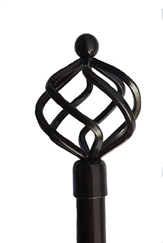 Fancy Collection Rod Décor - NEW Decorative Curtain Rod All Sizes Window Rods (24