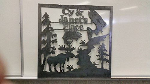 Custom Made Cabin and Lot Signs