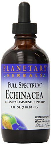 Planetary Herbals  Echinacea Fresh Herb Extract, Full Spectrum , 4 fl oz (118.28 ml)