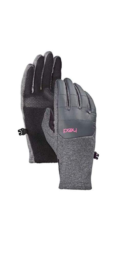 HEAD Junior Hybrid Glove Gray/Pink Large, Ages 10-14