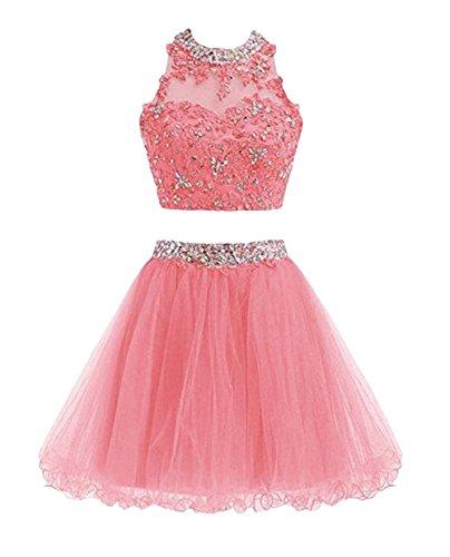 Leader of the Beauty - Vestido - para mujer rosa coral 46