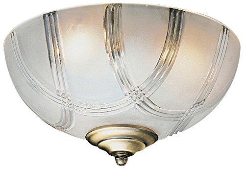 Craftmade LKE51CFL 2 Light Elegance Bowl Fan Light Kit (One Light Bowl Kit)