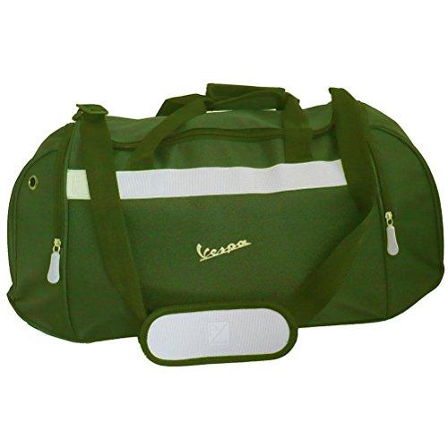 Borsa per lo sport, colore: verde cachi Vespa