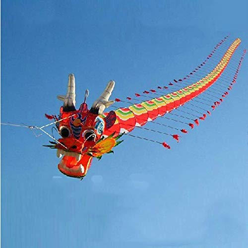 SHLMM Free Shipping High Quality Chinese Traditional Crafts Dragon Head Centipede Children Kite Seven Meters Long Outdoor parent-child