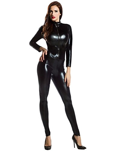 Front-Zip-Adult-Costume-For-Men-Long-Sleeve-Second-Skin-Suit-Zentai