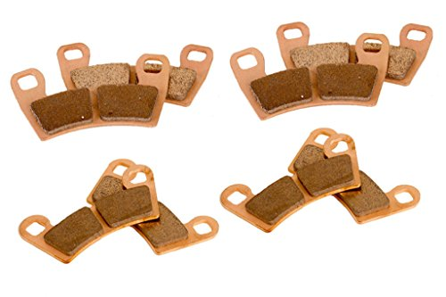 Race Driven Front & Rear Brake Pads for Polaris RZR Razor Trail Ace 900 S XC EPS / 1000 S EPS ()