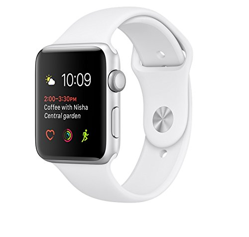 Apple watch series 2 42mm ALUMINUM Case SPORT (Silver Aluminum Case with...