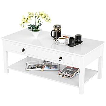 Amazon Com Homecho Coffee Table Sofa Table With 2
