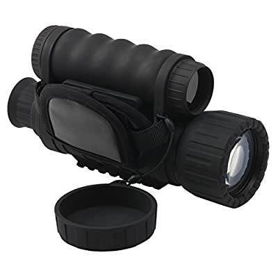 Bestguarder 6x50mm HD Digital Night Vision Monocular with 1.5 inch TFT LCD and Camera & Camcorder Function Takes 5mp Photo & 720p Video from 350m Distance for Hunting and Scouting Game / Security and Surveillance / Camping Fun / Exploring Caves / Nighttim