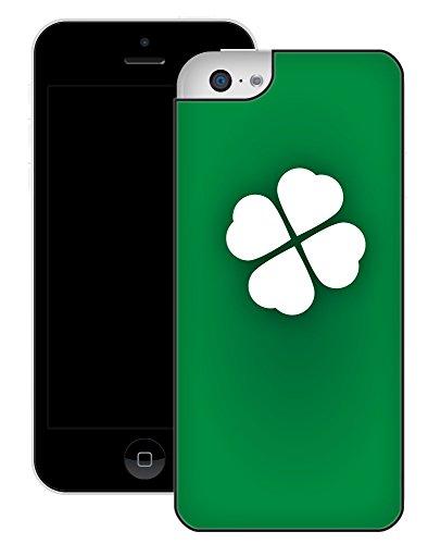 Chanceux | Fait à la main | iPhone 5c | Etui Housse noir