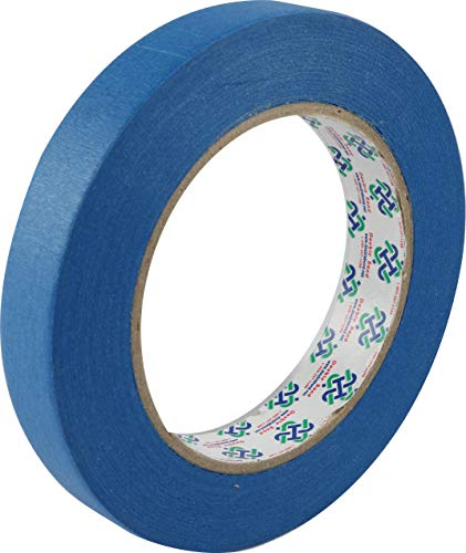 "0.71""x 60yd 14 Day Clean Release Painters Tape ¾ inch, Blue Painters Tape ¾ inch, Blue Painters Tape, Blue Tape, Blue Masking Tape ¾, Thin Painter Tape (0.71"", 18mm), 1 Roll"