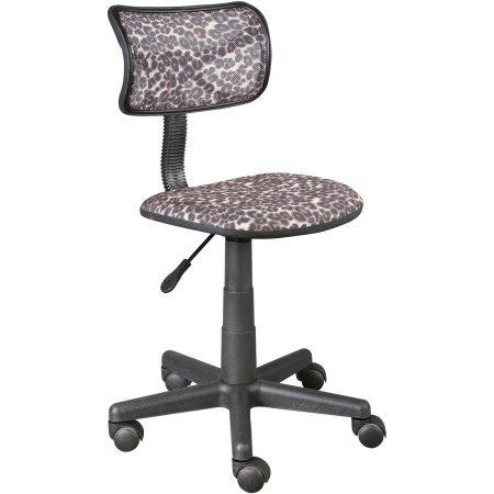 Urban Shop Swivel Mesh Chair, Leopard (Urban Leopard)