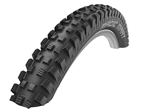 SCHWALBE Magic Mary Addix Wire Compound TwinSkin BikePark Tire, Black, 26