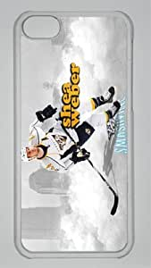 SHEA WEBER NASHVILLE PREDATORS Custom PC Transparent Case for iPhone 5C by icasepersonalized