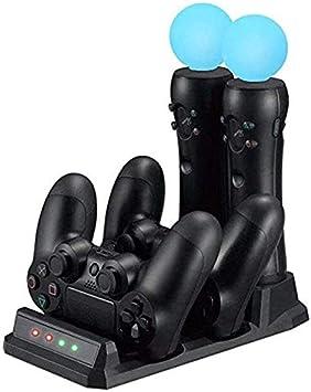 FONCBIEN Estación De Carga para Dualshock 4 Controller: Amazon.es: Electrónica