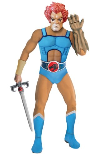 Thundercats Halloween Costumes (Deluxe Lion-O Adult Costume -)