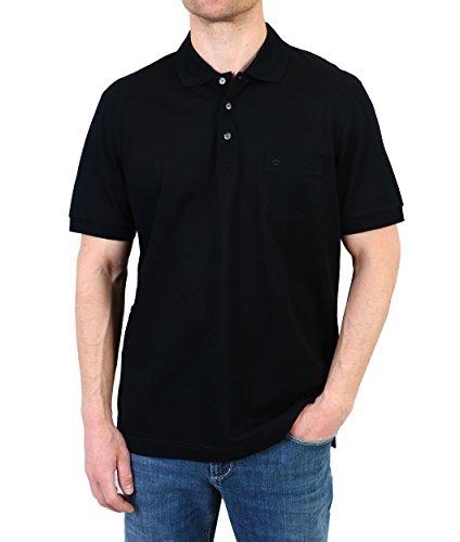 OLYMP Herren Polo-Shirt 1524-12-68 schwarz Gr. M