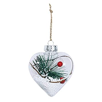 com-four/® 100x Hook for Christmas tree decorations Perfect for deco pendant Double hook for Christmas tree decoration