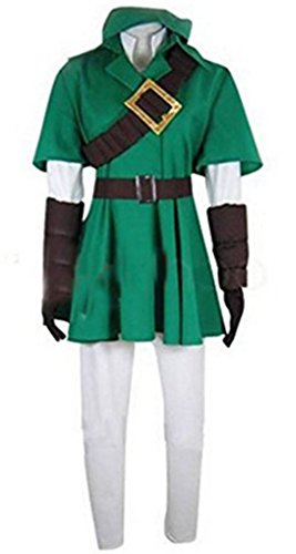 HOLRAN The Legend of Zelda Link Cosplay Costume any size