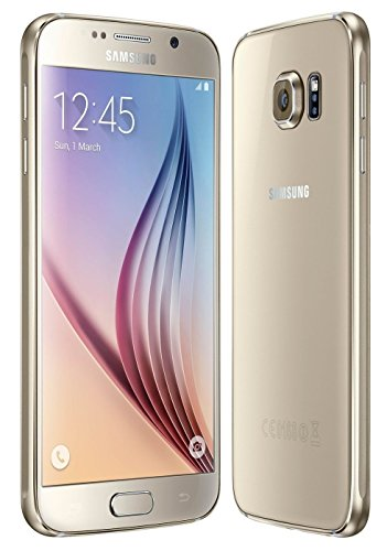 Samsung Galaxy S6 G920a 32GB Unlocked GSM 4G LTE Octa-Core Android Smartphone w/ 16MP Camera (Renewed) (Gold - Android Samsung Smartphones 4g