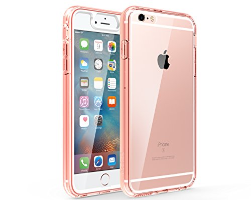 For iPhone 6 Plus / 6s Plus [Built-In Screen Protector] For Apple Full-body Premium Cover, Dual Layer + Impact Resistant ZARUS ZUSLAB Case Bumper Protection Hybrid (Rose Crystal)