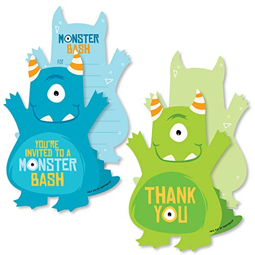 monster baby shower invitations - 7