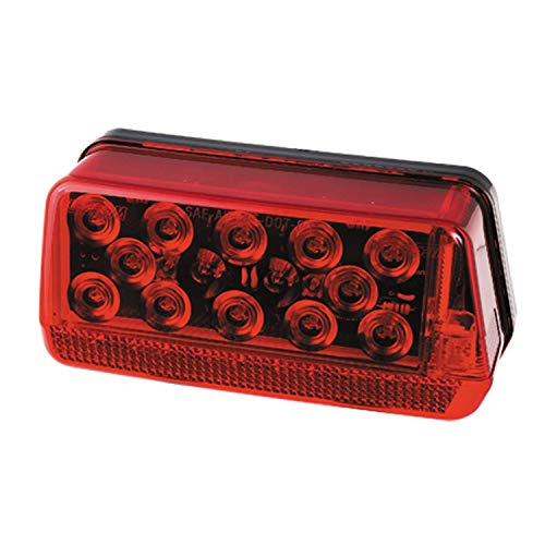 Loader Trailer Boat Ez - Fulton Wesbar 281594 Waterproof LED Wrap-Around Tail Light, Over 80