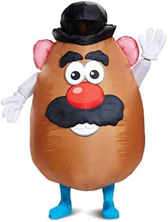 [해외]Disguise 남성용 Mr. 감자머리 풍선 성인용 의상 / Disguise 남성용 Mr. 감자머리 풍선 성인용 의상