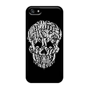 Shockproof Cell-phone Hard Cover For Iphone 5/5s (qxU4544ALUq) Support Personal Customs HD Avenged Sevenfold Band A7X Pattern