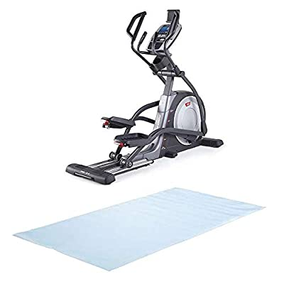 ProForm Pro 16.9 iFit Coach Ready Home Elliptical + NordicTrack 3' x 6' Exercise Equipment Floor Mat