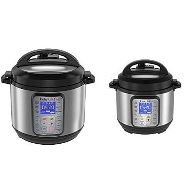 Instant Pot Duo Plus 6 Qt and 3 Qt Bundle