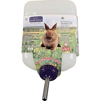 Lixit All-Weather Rabbit Water Bottle, 64oz