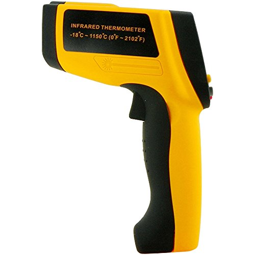 RZ Non-Contact Infrared ( IR)Thermometer 0 to 2102F Temperature Gun 50:1, w/ Laser Sight by Zr
