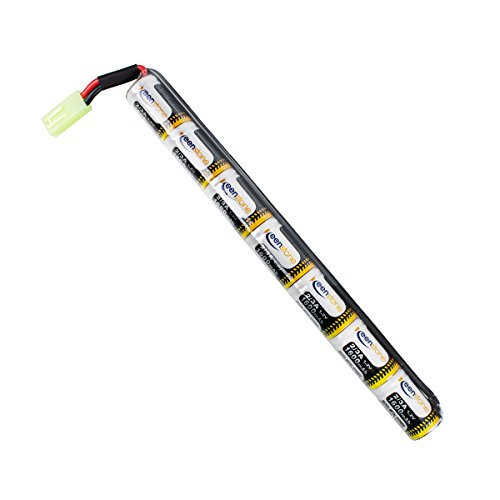keenstone upgrade 8 4v nimh 1600mah butterfly nunchuck stick mini battery pack  8 4v nimh