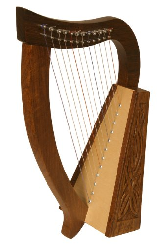 Baby Harp Tm, 12 Strings, Knotwork by Roosebeck