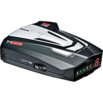 Cobra XRS9370 High-Performance Radar/Laser Detector with 360-Degree Protection