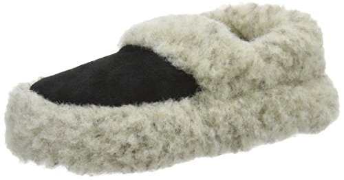 Woolsies Staten, Zapatillas de casa Unisex adulto Gris (Grey)
