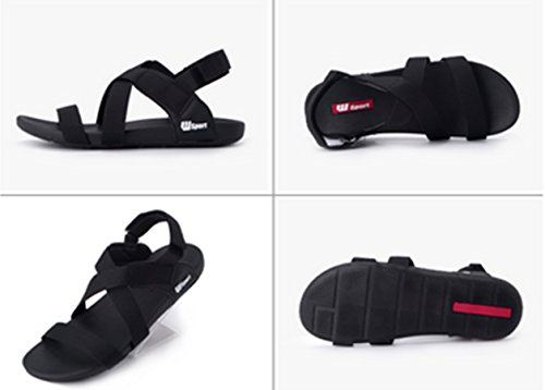 Beach Unisex Sports Breathable Black Sandals Fashion slip Casual Non Junsi Business Shoes 4905 gqwt6Ap