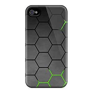 Perfect Green Honeycomb Cases Covers Skin For Iphone 6 Phone Cases