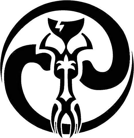 Star Wars Inspired Mandalorian Symbol Vinyl Decal Sticker
