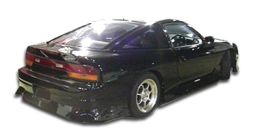 - 1989-1994 Nissan 240SX HB Duraflex Type U Rear Bumper Cover - 1 Piece