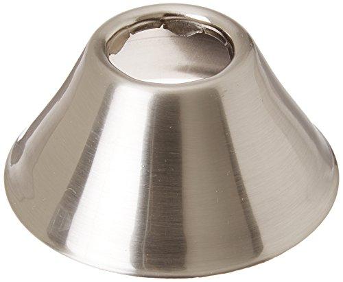 Bell Escutcheon - Jones Stephens E0605BN Escutcheon Bell Pattern, Brushed Nickel