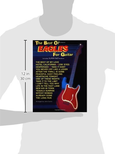 Amazon The Best Of Eagles For Guitar The Best Of For Guitar